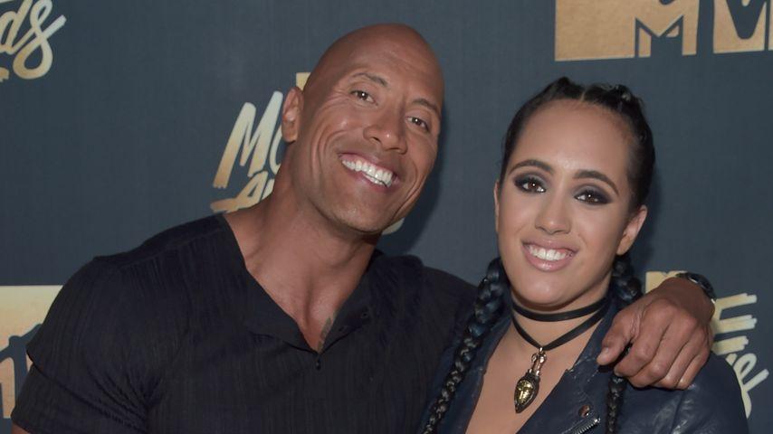 Daddy-Date: Dwayne Johnson mit Tochter auf dem Red Carpet