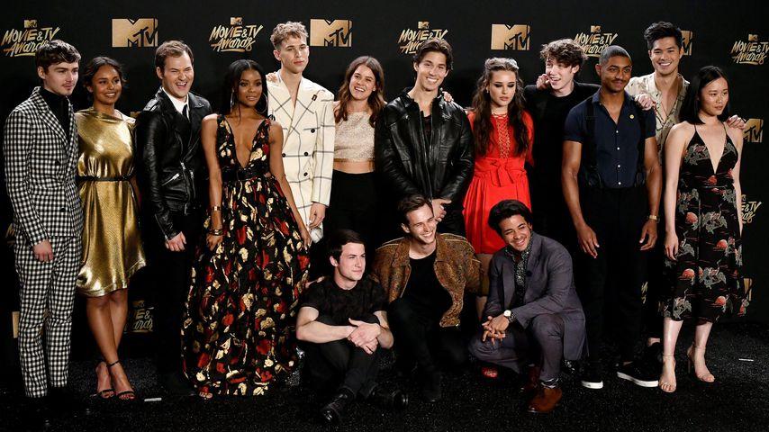 """Der """"Tote Mädchen lügen nicht""""-Cast bei den MTV Movie Awards 2017"""