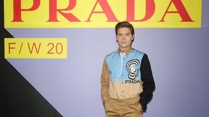 Dylan Sprouse bei der Fashion Week in Mailand, 2020