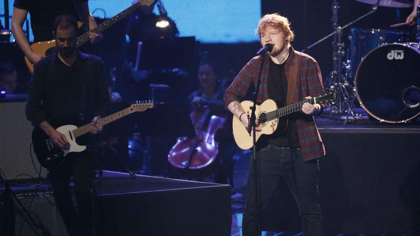 """Ed Sheeran beim Finale von """"The Voice of Germany"""" 2017"""