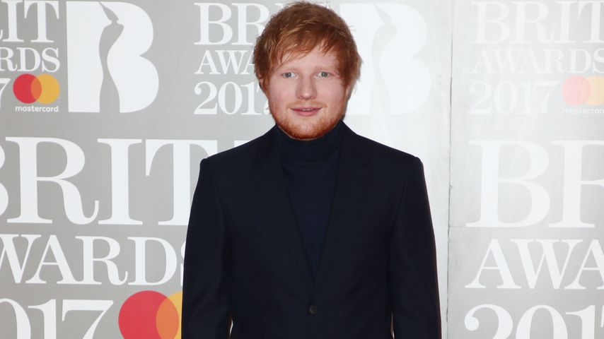 Ed Sheeran bei den BRIT Awards in London 2017