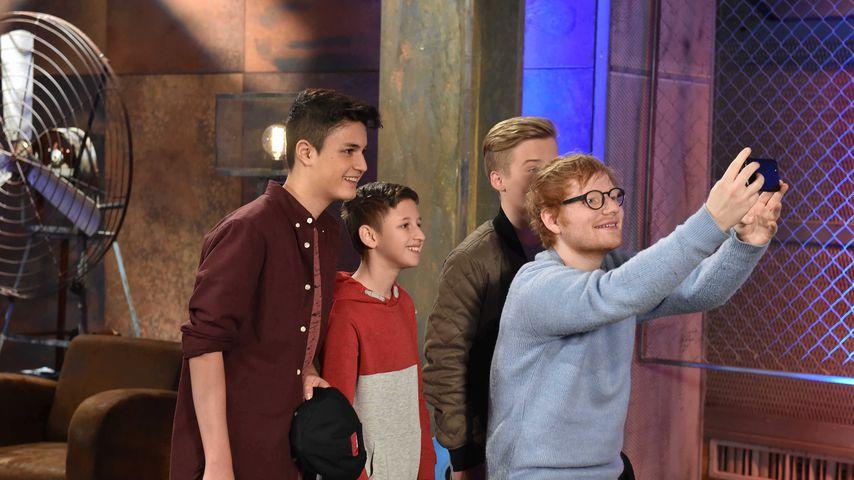 "Mega Star-Überraschung! Ed Sheeran bei ""The Voice Kids"""