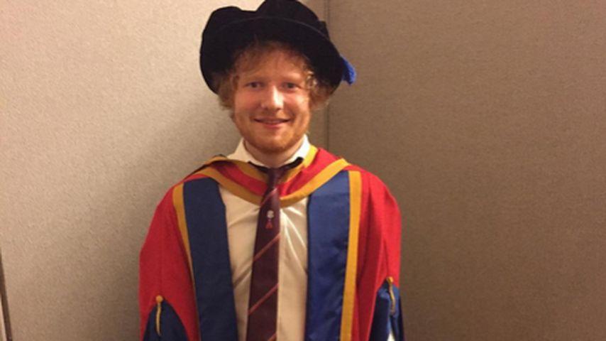 Ron Weasley? Nein, das ist Dr. Ed Sheeran!