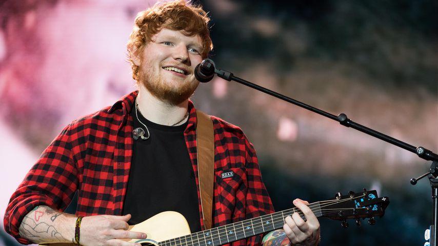 Ed Sheeran beim Glastobury Festival 2017