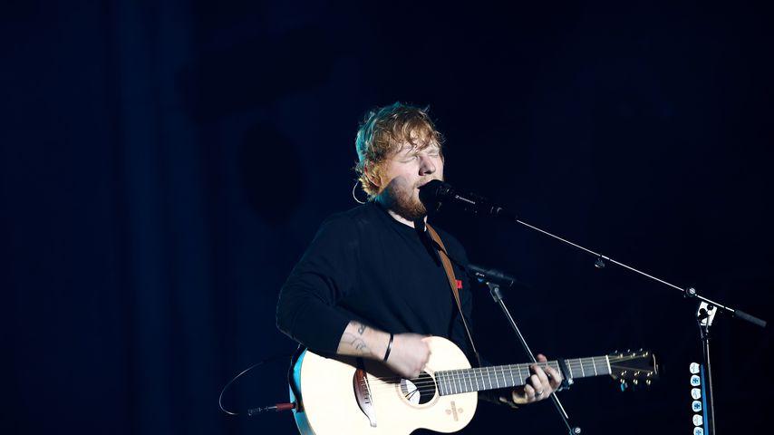 Ed Sheeran bei einem Konzert in Auckland, Neuseeland im März 2018