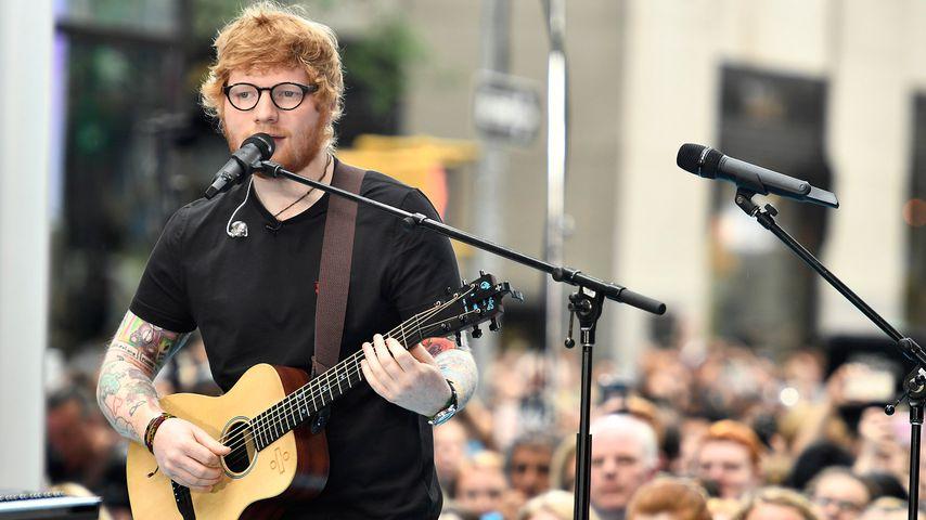 Ed Sheeran bei NBC's Today am Rockefeller Plaza