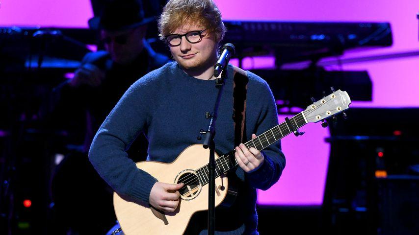 Ed Sheeran im Januar 2018 in New York