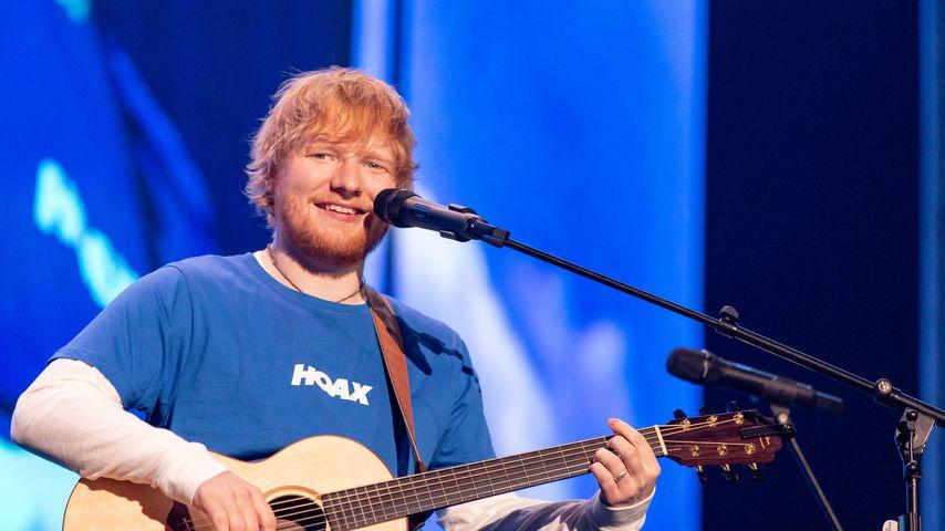 Ed Sheeran bei einem Konzert in Wisconsin, Oktober 2018