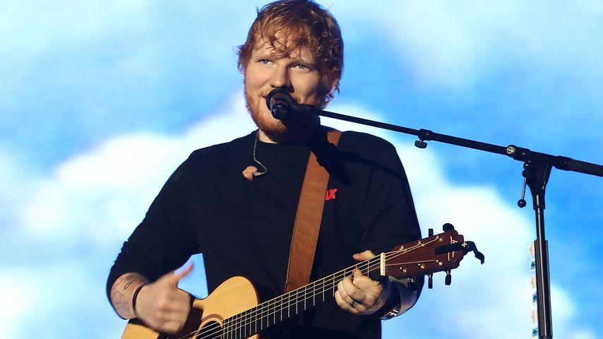 Ed Sheeran bei einem Konzert in Auckland, März 2018