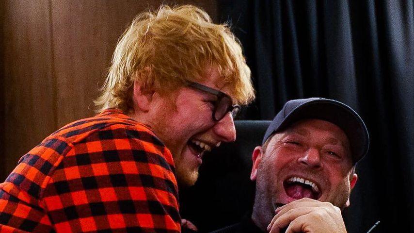 Dank lustiger Posts: Ed Sheerans Bodyguard selbst ein Star