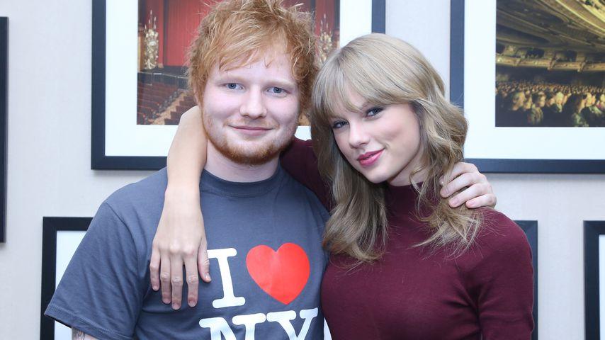 Ed Sheeran und Taylor Swift, Musikerfreunde
