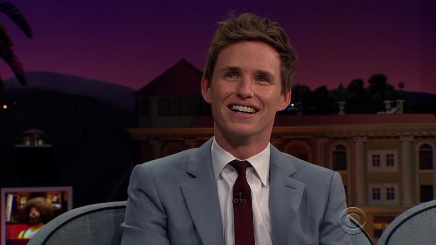 "Eddie Redmayne zu Gast in der ""The Late Late Show"""