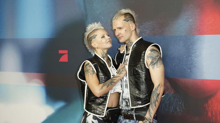 """Edith und Eric Stehfest bei der Premiere von """"9 Tage wach"""" in Berlin"""