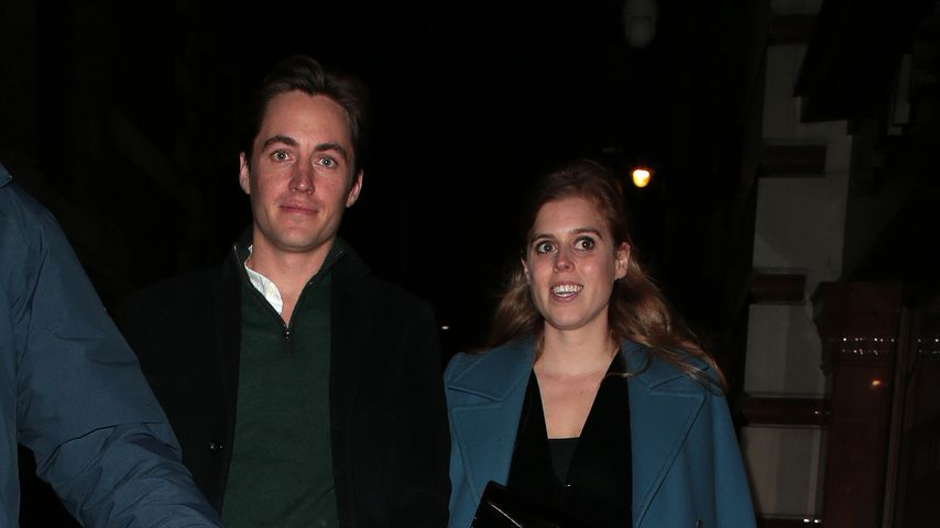 Edoardo Mapelli Mozzi und Prinzessin Beatrice in London