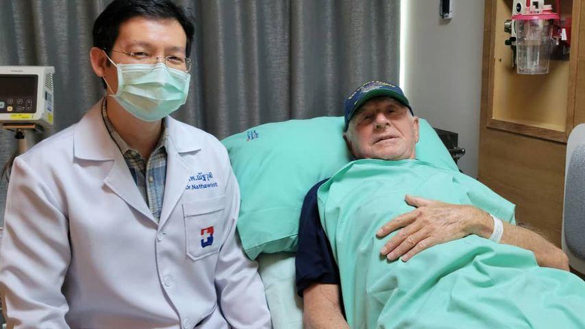 Frédéric von Anhalt in einer Klinik in Thailand