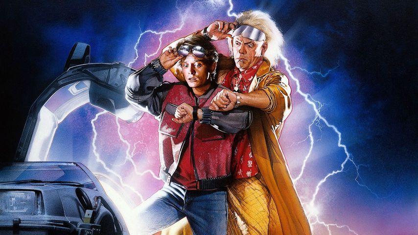 """""""Zurück in die Zukunft""""-Filmplakat von 1989"""