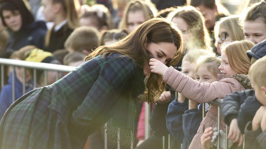 Herzogin Kate und ein Royal-Fan