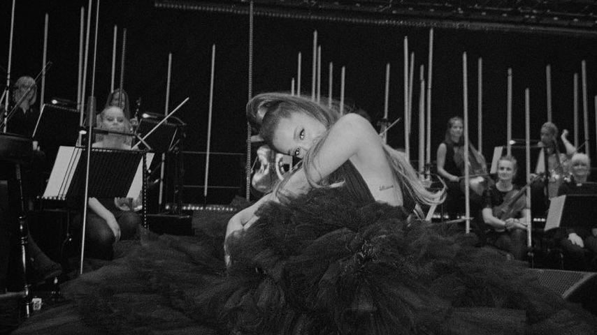 Ariana Grande bei einem Konzert des Senders BBC in London