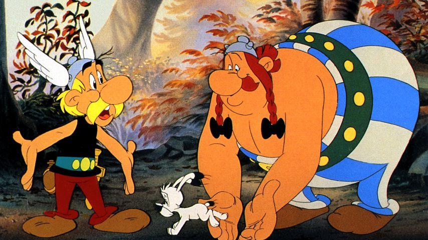 """Eine Szene aus """"Asterix in Amerika"""""""