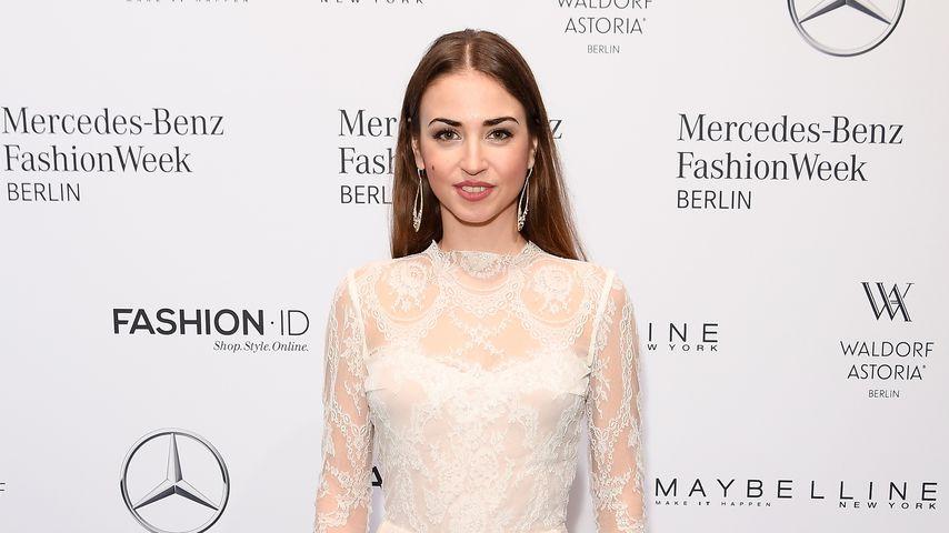 Ekaterina Leonova bei der Berlin Fashion Week