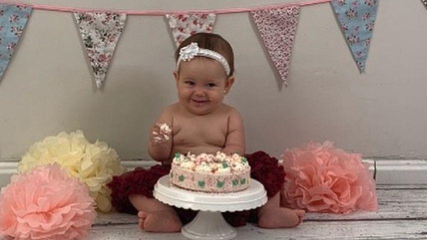 Elena Miras' Tochter Aylen an ihrem ersten Geburtstag