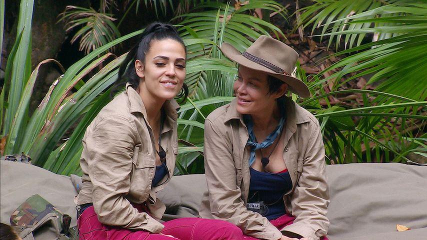 Elena Miras und Sonja Kirchberger, Dschungelcamp Tag 7