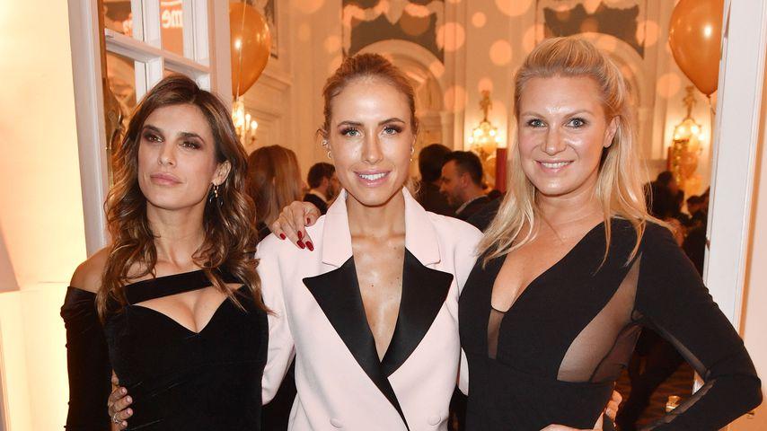 Elisabetta Canalis, Alena Gerber und Magdalena Brzeska