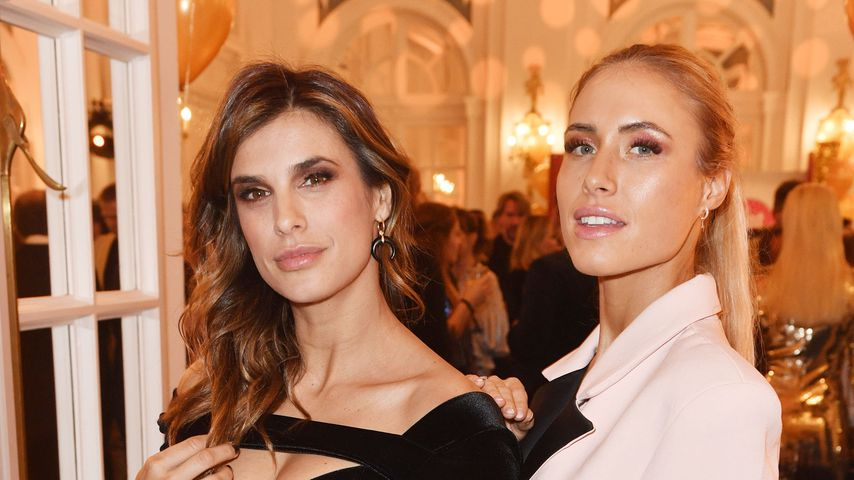Elisabetta Canalis und Alena Gerber bei der Jubiläums-Party von Movie meets Media
