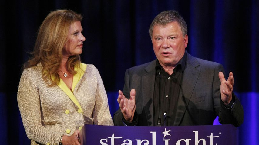 Elizabeth und William Shatner 2008 in Beverly Hills