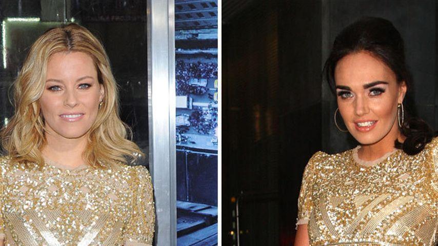Wem steht's besser: Elizabeth oder Tamara?