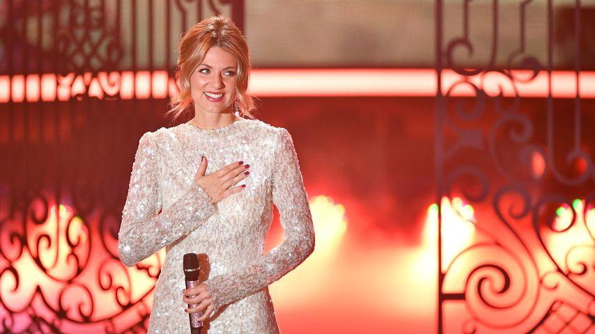 """Ella Endlich in der Show """"Heiligabend mit Carmen Nebel"""""""