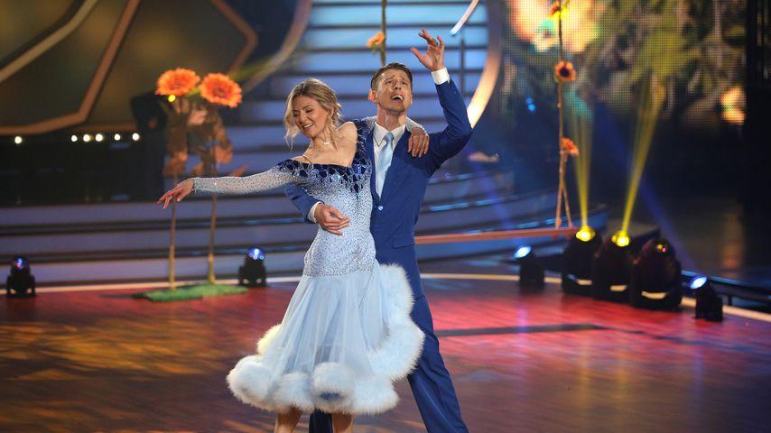 """Ella Endlich und ihr Tanzpartner Valentin Lusin bei """"Let's Dance"""""""
