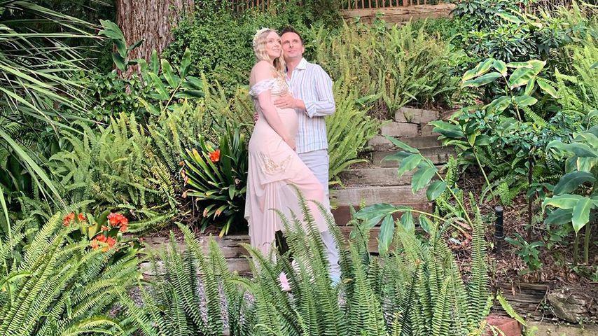 Elle Evans und Matthew Bellamy im Februar 2020