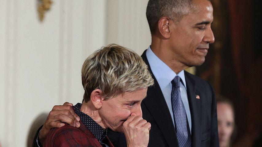 Mendes-Gosling-Baby: Ellen DeGeneres zeigt 1. Pic!
