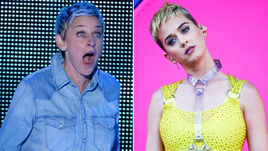 Peinlich! Ellen vergaß Katy Perrys Heirat mit Russell Brand