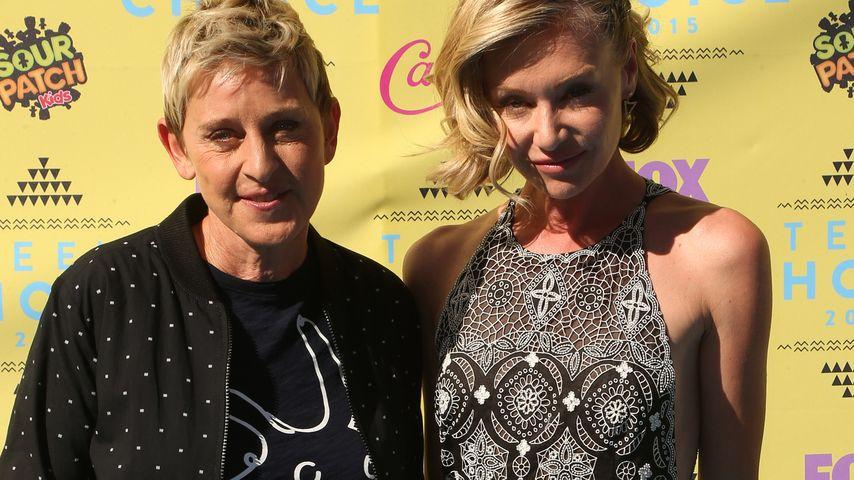 Romantik pur! Keine Trennung bei Ellen DeGeneres und Portia