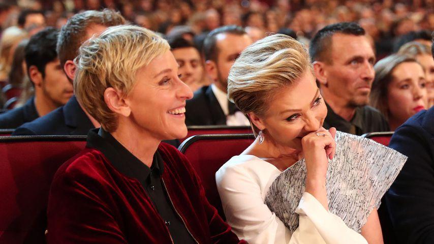 Ellen DeGeneres und Portia de Rossi bei den People's Choice Awards 2017