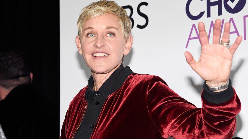 Ellen DeGeneres bringt Julia Roberts zum Schreien