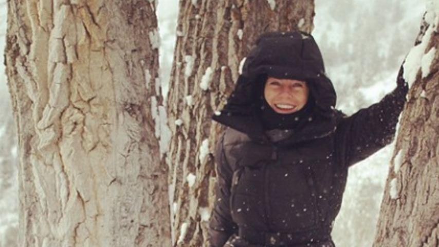 Winter-Fan: Ellen Pompeo hat Spaß im Schnee