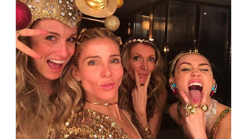 Elsa Paraky, Miley Cyrus und Familie