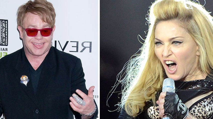 Elton John: Madonna ist Kirmes-Stripperin & Fot*e!