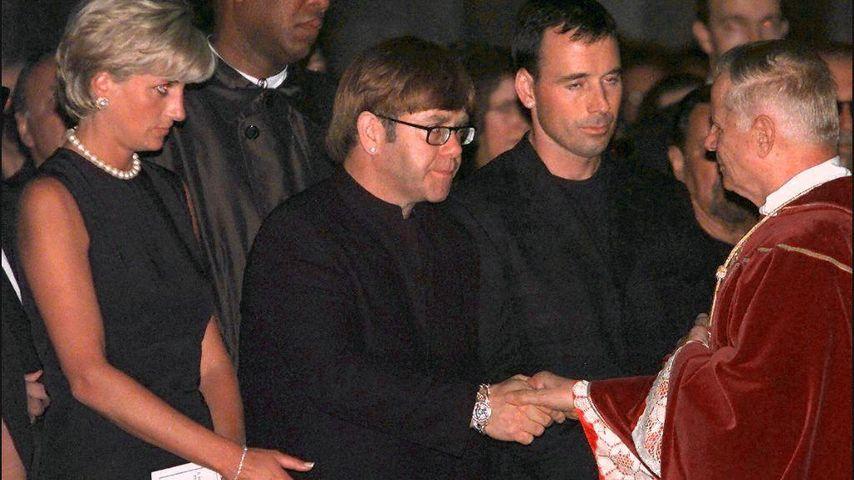 Prinzessin Diana und Elton John