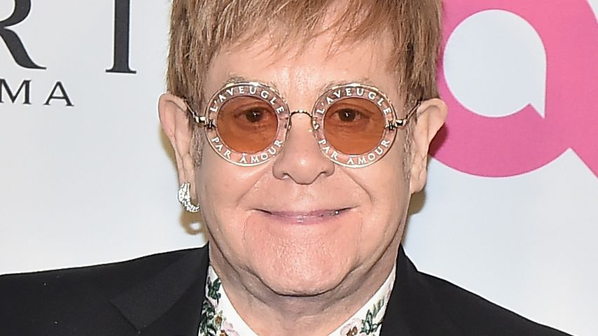 Elton John im November 2017 in New York