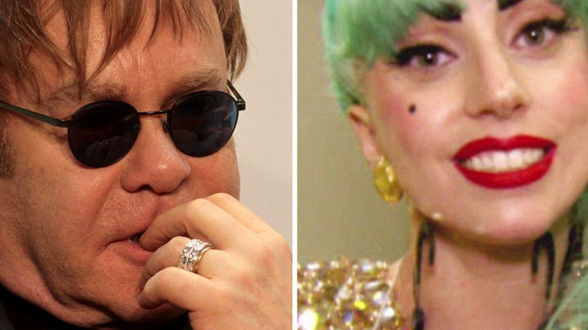 Lady Gaga und Elton John feiern Versöhnung