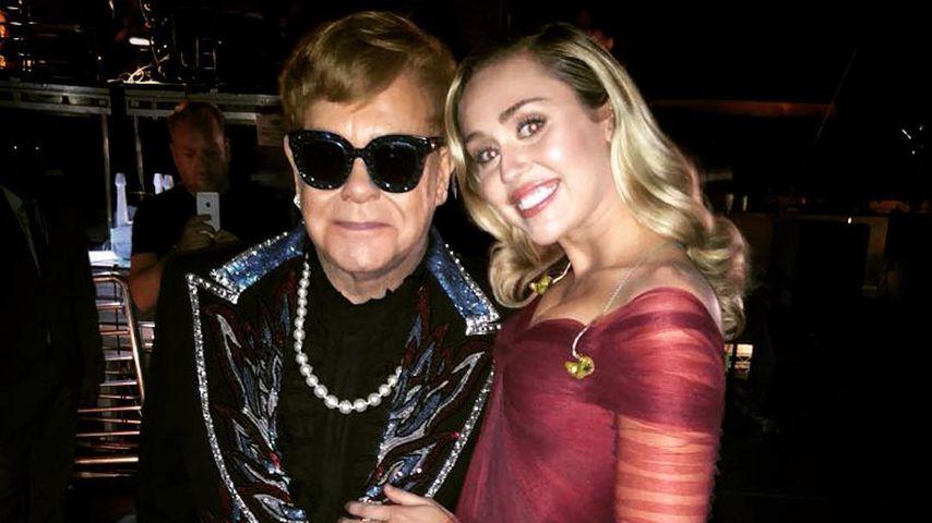 Riesenlob an Miley Cyrus: Elton John gerät ins Schwärmen!