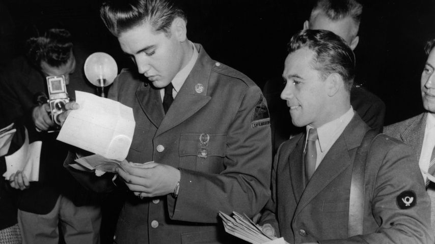 Elvis Presley als US-Soldat in Friedberg