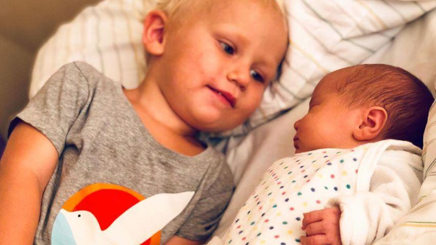 Emil-Ocean Kusmagk mit seiner Schwester Yoko