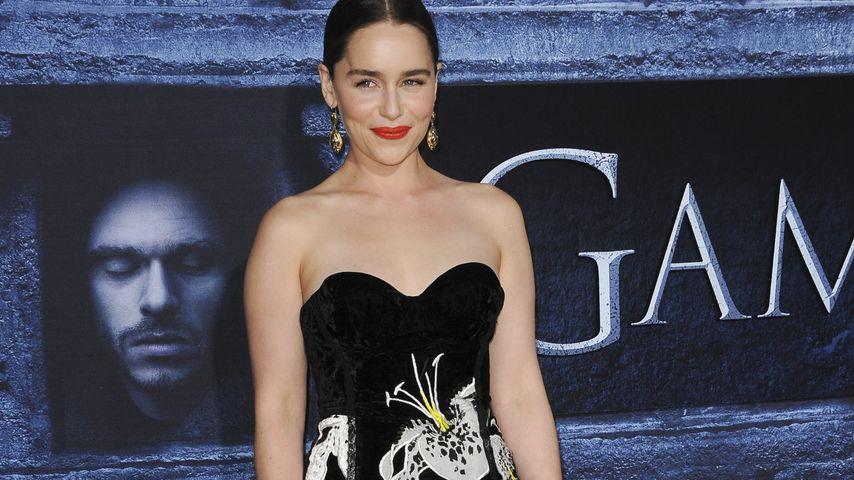 Emilia Clarke bei GoT Premiere