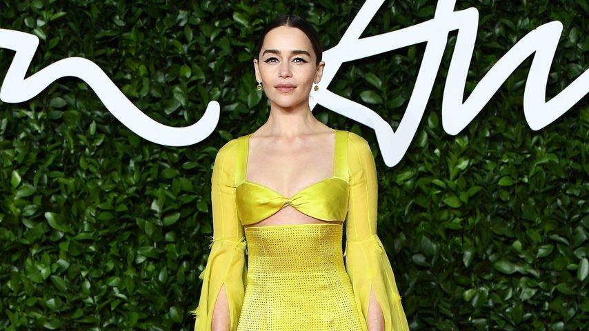 Emilia Clarke bei den British Fashion Awards 2019