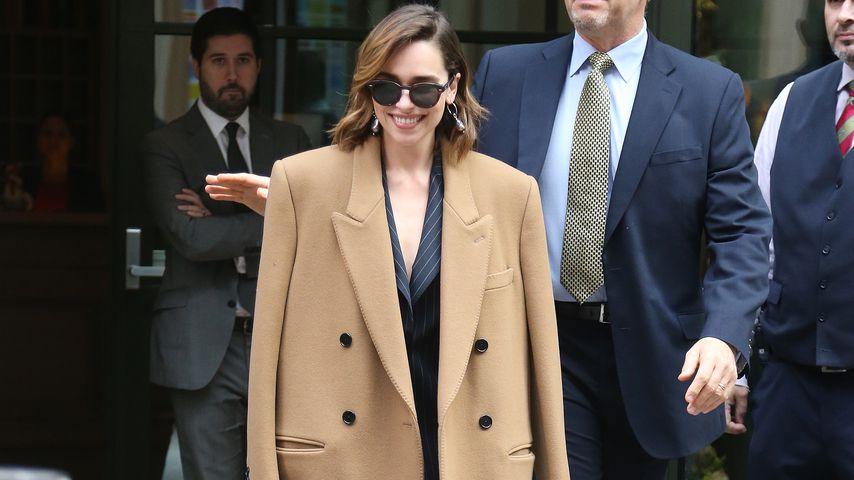 """Game of Thrones""-Darstellerin Emilia Clarke  in New York City im Oktober 2019"